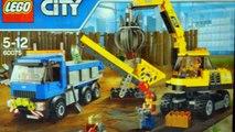 Лего Сити 60075 - Экскаватор и Грузовик - на русском. Лего Сити new. Лего Мультики. Кока туб