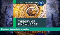 READ BOOK  IB Theory of Knowledge Course Book: Oxford IB Diploma Program Course Book  PDF ONLINE