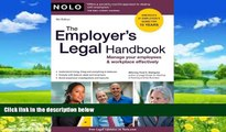 Books to Read  The Employer s Legal Handbook: Manage Your Employees   Workplace Effectively  Best