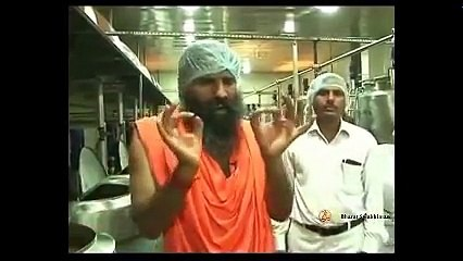 Patanjali Ghee Production Process At World's Largest Plant - Baba Ramdev