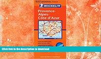 READ BOOK  Michelin France: Provence/Alpes/Cote d Azur (Michelin Maps) (Multilingual Edition)