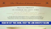 [READ] EBOOK In Search of Lost Time: Proust 6-pack (Proust Complete) ONLINE COLLECTION