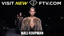 Model Talks Fall/Winter 2017 - Mali Koopman | FTV.com