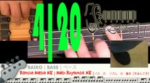 Basic Rhythmic BX 4   Rítmica Básica BX 4   四 : ベース の リズム の 基本[きほん]