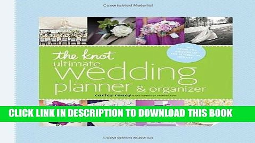 Ebook The Knot Ultimate Wedding Planner Organizer [binder edition]: Worksheets, Checklists, | Godialy.com
