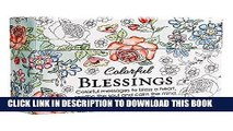 Best Seller Colorful Blessings: Cards to Color and Share Free Read