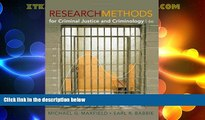 Big Deals  Research Methods for Criminal Justice and Criminology, 6th Edition  Best Seller Books
