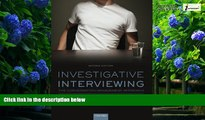 Books to Read  Investigative Interviewing: The Conversation Management Approach  Full Ebooks Most
