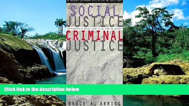 Full [PDF]  Social Justice/Criminal Justice: The Maturation of Critical Theory in Law, Crime, and
