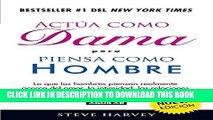 Best Seller Actúa como dama, piensa como hombre (nueva edición): Lo que los hombres piensan