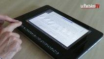 Une tablette tactile en braille pour les non-voyants