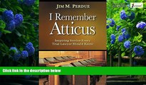 NEW RELEASES] I Remember Atticus: Inspiring Stories Every