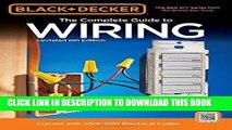 [PDF] FREE Black   Decker The Complete Guide to Wiring, Updated 6th Edition: Current with