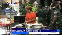 Pengosongan Rumah Dinas TNI Diprotes