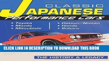 [PDF] Classic Japanese Performance Cars: The History   Legacy (Cartech) Full Collection