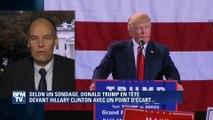 Présidentielle US: un sondage donne Trump devant Clinton