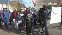 Bruyères-sur-Oise : marche blanche en mémoire de Jeremy, 19 ans, percuté par un train