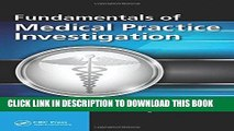 Best Seller Fundamentals of Medical Practice Investigation Free Read