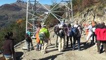Hautes-Alpes/THT : des pylônes RTE baptisés aux noms de Karine Berger et de Maurice Brun