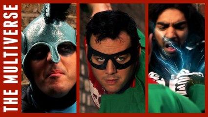 British Superheroes Kill Thug (ft. Mawaan Rizwan!)   KnightHood & Decoy