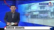 Diguyur Hujan, Banjir Genangi Permukiman Warga di Jakarta