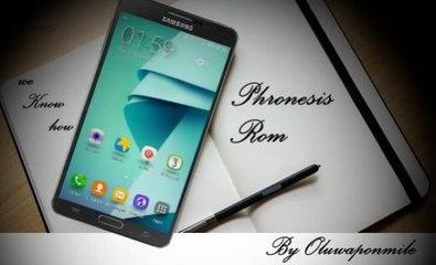 Phronesis Rom N7 v3.1 on Samsung Galaxy Note 3