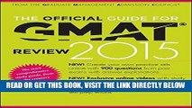 [Free Read] The Official Guide for GMAT Review 2015 with Online Question Bank and Exclusive Video