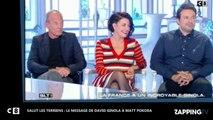 David Ginola victime d'un arrêt cardiaque : Son tendre message à Matt Pokora (Vidéo)