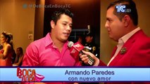 Armando Paredes contento porque Sofía Caiche en un futuro le dirá a su hija, que él es su padre