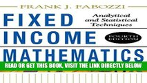 [Free Read] Fixed Income Mathematics, 4E: Analytical   Statistical Techniques Full Online