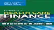 [FREE] EBOOK Essentials Of Health Care Finance BEST COLLECTION