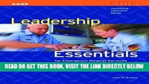 [READ] EBOOK Leadership Essentials For Emergency Medical Services (Continuing Education) BEST