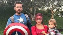 Kourtney Kardashian Goes Sexy as Spider-Man for Halloween