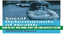[FREE] EBOOK Social Determinants of Health ONLINE COLLECTION