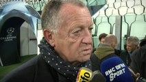 Foot - C1 - OL : Aulas «Quand on peut aller rivaliser avec Toulouse, on peut taquiner la Juve»