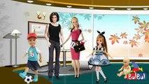 Finger Family Barbie Nursery Song-Barbie Girl Finger Family Nursery Rhymes - Animated 2D Kids Rhymes