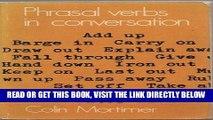 [READ] EBOOK Phrasal Verbs in Conversation ONLINE COLLECTION