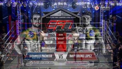EFN 9: Ricardo Pacheco derrota Ravy Brunow e avança à final do GP