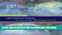 [READ] EBOOK International Financial Management (Irwin/McGraw-Hill Series in Finance, Insurance