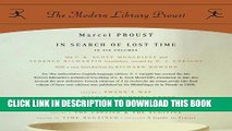 [BOOK] PDF In Search of Lost Time: Proust 6-pack (Proust Complete) Collection BEST SELLER