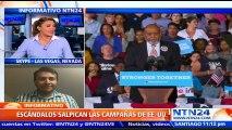"""""""Tenemos la confianza de que el 8 de noviembre Clinton va a ganar"""": Jorge Silva"""