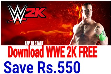 Hindi How To Download Play Wwe 2k On Android For Free Tech Maza Video Dailymotion