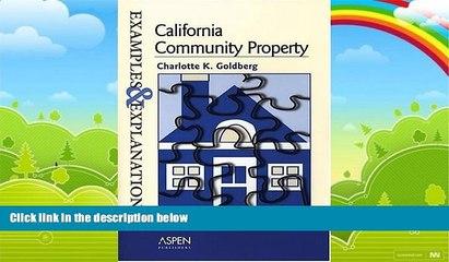 big deals california community property examples and explanations examples explanations