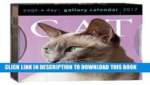 [PDF] Cat Page-A-Day Gallery Calendar 2017 Popular Online