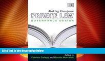Big Deals  Making European Private Law: Governance Design  Best Seller Books Best Seller