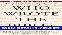 [READ] EBOOK Who Wrote the Bible? ONLINE COLLECTION