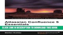 Atlassian Confluence 5 Essentials hardcover$