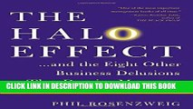 The Halo Effect: How Managers let Themselves be Deceived