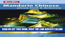 [READ] EBOOK Berlitz Mandarin Chinese Phrase Book   Dictionary ONLINE COLLECTION