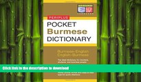 FAVORIT BOOK Pocket Burmese Dictionary: Burmese-English English-Burmese (Periplus Pocket